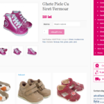 Littleshoes.ro (WordPress + WooCommerce)