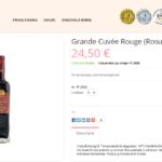 Vinuri Berne Romania (Magento)