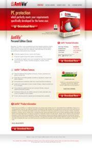 AntiVir Website
