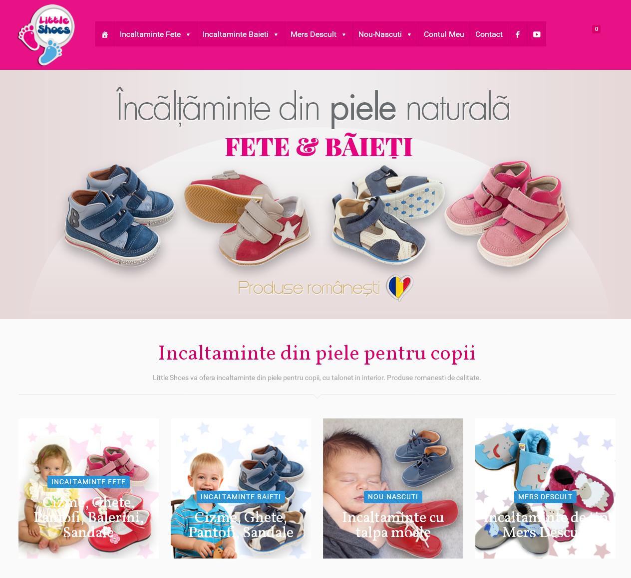littleshoes.ro - Magazin Online