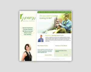 Synergy Dental Website