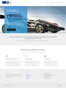 vortic-dev.webtimo.ro Site Web Prezentare