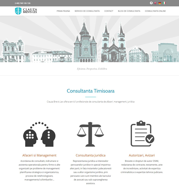 brevislex.ro - Site Web Prezentare